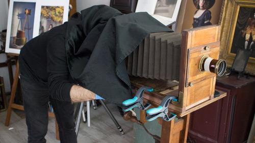 Les ateliers photo de l'Atelier d'en face avec Vera Eikona - Le collodion humide