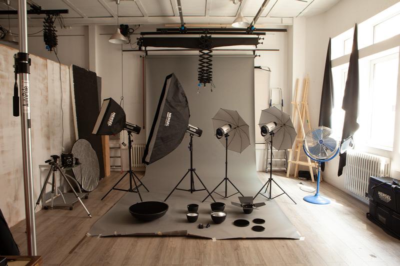 Etude de la lumière - Les flashs de studio