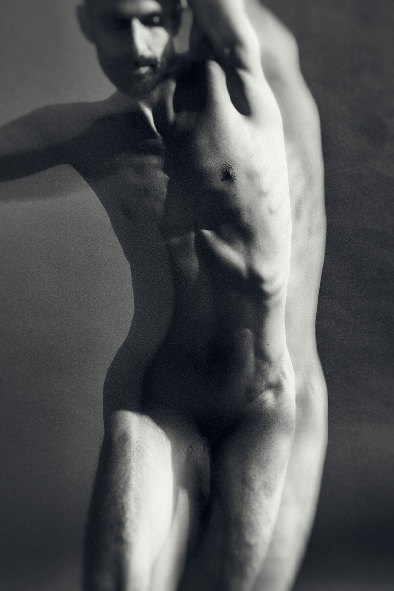 Casali - Etudes de nu - Le nu académique masculin - Vlad