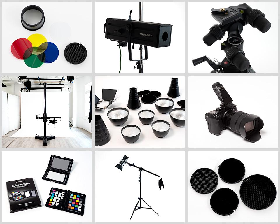 Atelier d'en face studio - Les accessoires