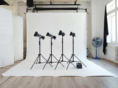 Kit de lumière aux flashs - 2 Hensel Monobloc 500 Joules